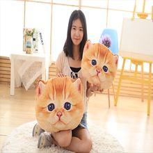 Realistic Cats Cotton Stuffed Pillow
