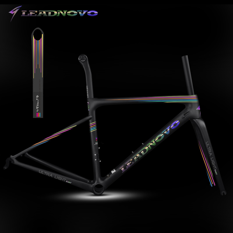 2018 oem carbon fibre road bike frame UD matte glossy superlight weight Di2 Mechanical China taiwan race bicycle frames LNSOLA1