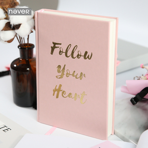Image 1 - Плотный Блокнот серии Never Pink для записей и журналов, линейный планировщик, Подарочная коробка для девочек, подарок, канцелярские принадлежности, школьные принадлежности