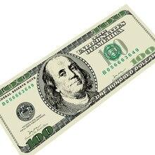 Alfombras Para la Sala Pasillo CAMMITEVER 100 Dólares de Dinero Puerta de goma Pad Alfombra Almohadilla 600g Esteras Niños Habitación Inicio decoración