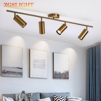 Modern Living Room Ceiling Light Fixture Nordic Rotatable ...