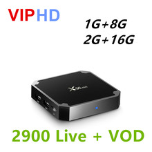 X96mini IPTV Android Tv Box Europe arabe UK USA suède allemagne italie pologne albanie turquie inde Portugal X96 mini PK IUDTV(China)
