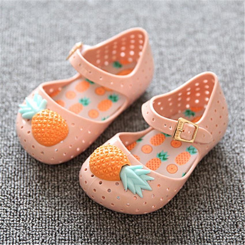 PU TIAN Baby Soft Sole Buty Pineapple Fruit Jelly Summer Baby Shoes - Obuwie dziecięce - Zdjęcie 2