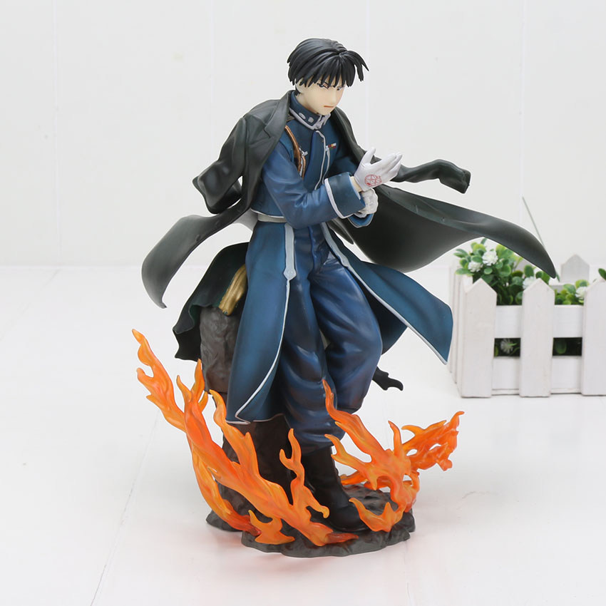 23cm Fullmetal Alchemist Roy Mustang PVC Action Figure Collectible Model Toy