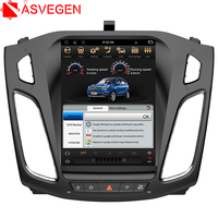 Asvegen Vertical Touch Screen Android 6.0 Quad Core Car Auto Radio Multimedia Player GPS Navigation For Ford Focus 2012 2015