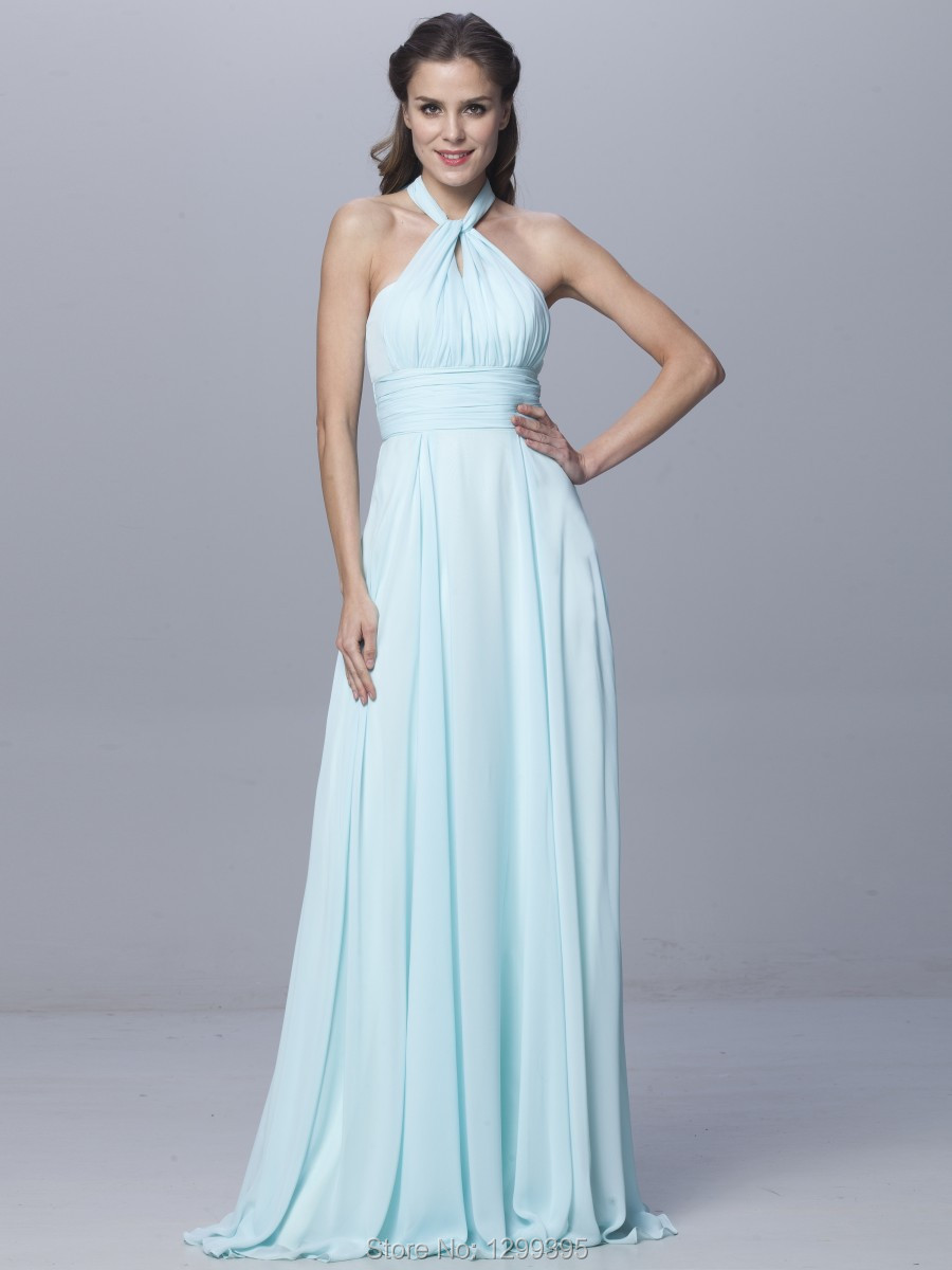 2017 China Light Green Chiffon Long Bridesmaid Dresses Hot Sale ... c47f38a6e53f