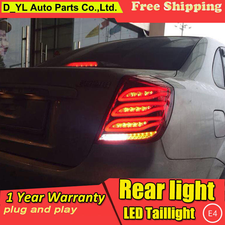 D YL Car Styling for Chevrolet Lacetti Taillights 2008 2014 New Lacetti LED Tail Lamp Rear