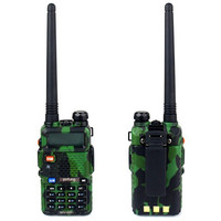 10pcs ArmyGreen BaoFeng UV 5R Walkie Talkie Camouflage Pofung UV 5R Two Way Radio 5W 128CH