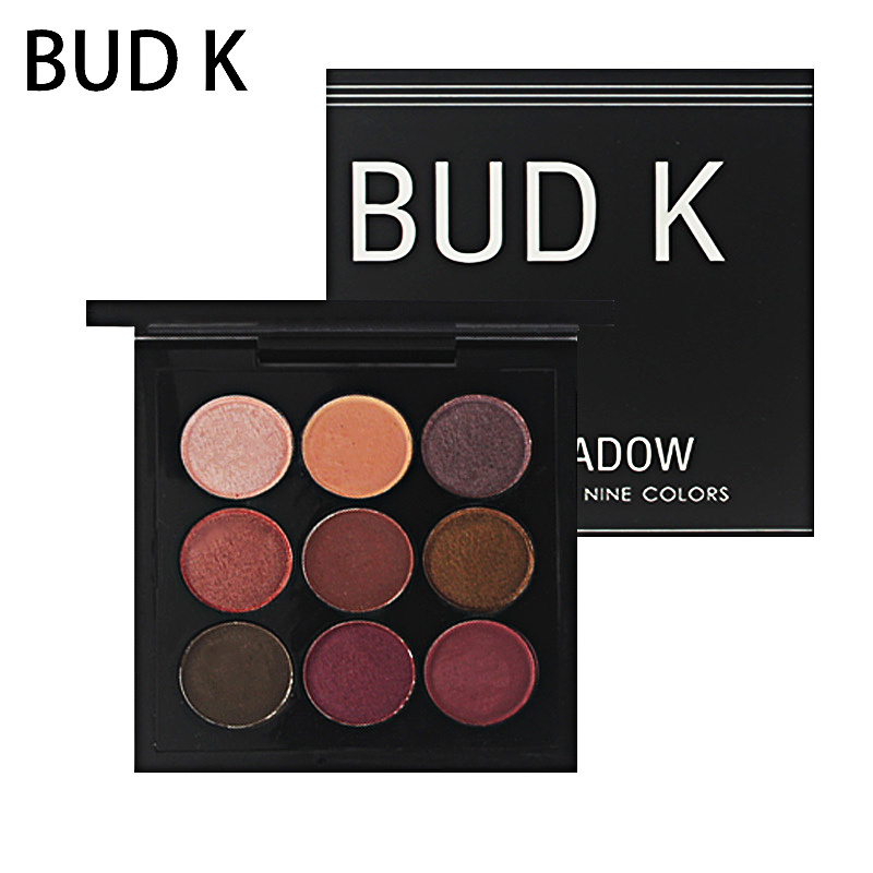 Bud K Brand 2018 New Eyeshadow Warm Women Makeup -5223