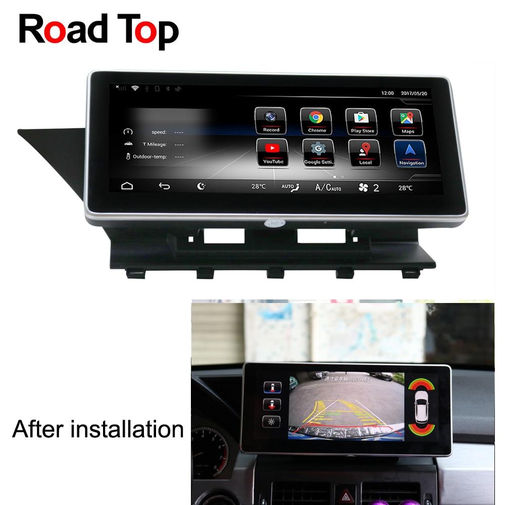 10.25 Android 7.1 Autoradio GPS Navigation Bluetooth WiFi Écran Unité de Tête pour Mercedes Benz GLK 200 220 280 250 300 320 350