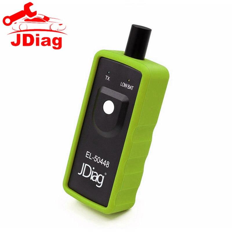 jdiag el 50448 tpms activation tool forgm/opel el50448 work on all
