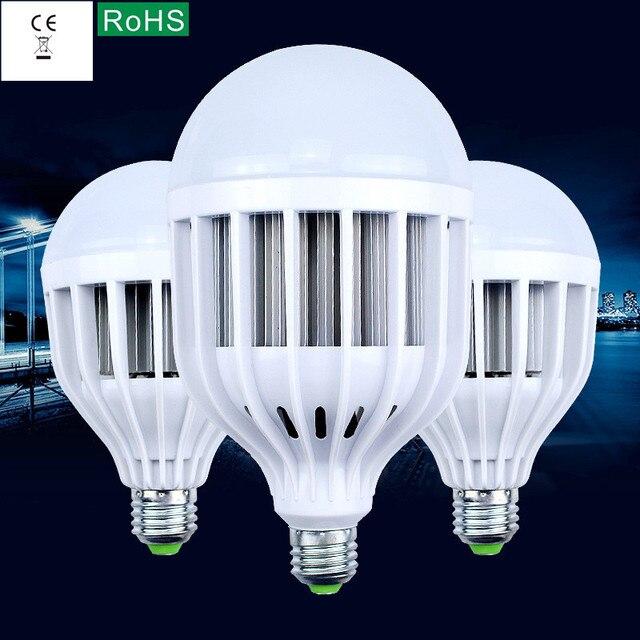 High quality plastic, 85-265 - v voltage led bulbs E27 screw B22 bayonet 15 w18w24w36w high-power energy-saving lamps