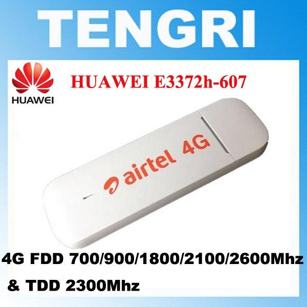 bilder für Entsperrt huawei e3372h-607 e3372 150 mbps 4g lte usb modem 4g fdd 700/900/1800/2100/2600 mhz tdd2300mhz pk e3276s-150 e3272