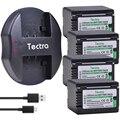 4 шт. 3900 мАч VW-VBT380 VW-VBT190 батарея + USB зарядное устройство для Panasonic HC-V720  HC-V727  HC-V730  HC-V750  HC-V757  HC-V760  HC-V770