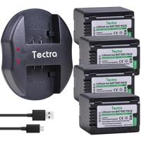 4PCS 3900mAh VW-VBT380 VW-VBT190 Battery+USB Charger for Panasonic HC-V720 HC-V727 HC-V730 HC-V750 HC-V757 HC-V760 HC-V770