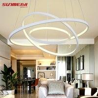 Modern LED Simple Pendant Lights Lamp For Living Room Cristal Lustre Pendant Lights Pendant Hanging Ceiling