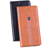 Hot Fashion For Samsung Galaxy S5 I9600 Genuine Leather Case Stand Flip Magnetic Mobile Phone