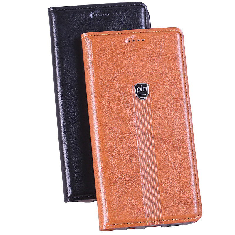 Hot ! Fashion One Plus X / Oneplus Genuine Leather Case Stand Flip Magnetic Mobile Phone Cover + Free Gifts  -  Jok Tony's store store