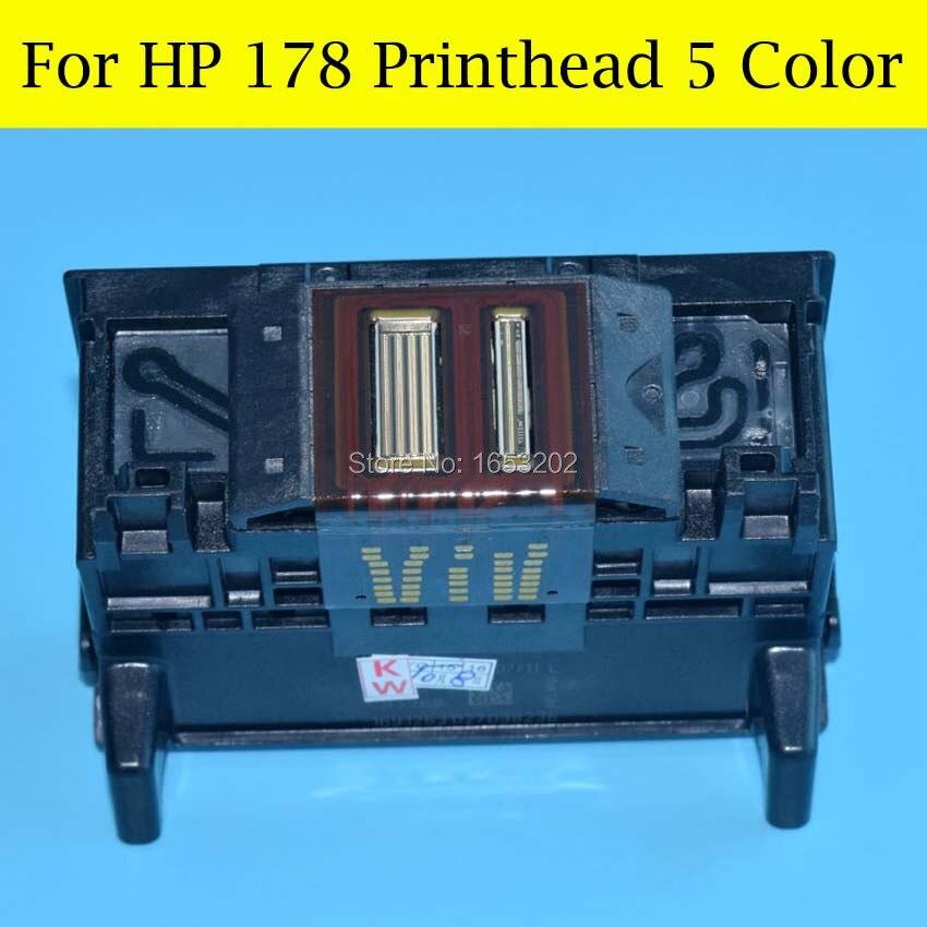 5 Color 178 Printhead For HP 178 C410 C5380 C5383 C6380 C6383 D5460 D5463 Printer Head cn642a for hp 178 364 564 564xl 4 colors printhead for hp 5510 5511 5512 5514 5515 b209a b210a c309a c310a 3070a b8550 d7560