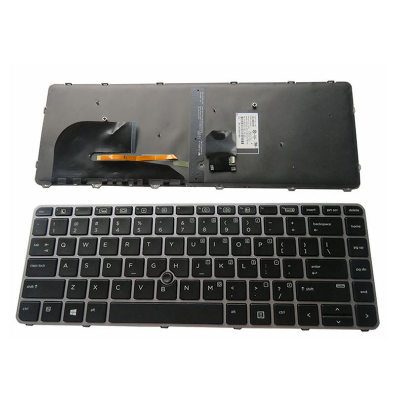 GZEELE US English Backlit Keyboard For HP EliteBook 840 G3 745 G3 745 G4 840 G4 848 G4 836308-001 821177-001 NSK-CY2BV Backlight