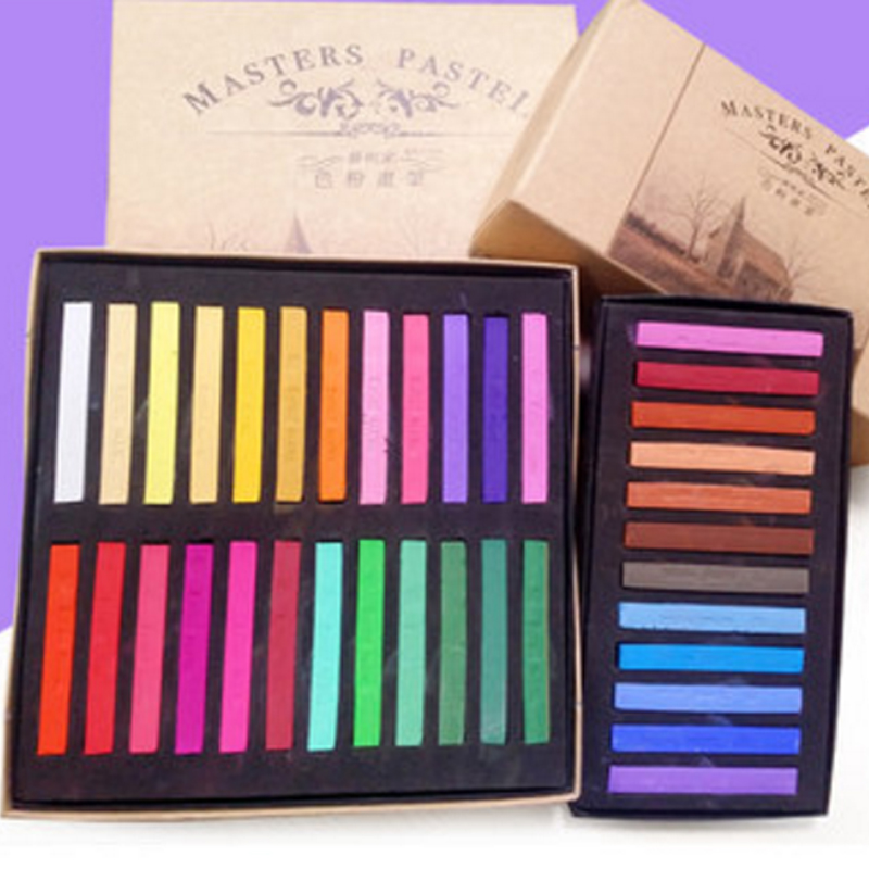 Many Colored DIY Hair Chalks Clay Dolls Pastel Painting Creative Convenient  Hair Dye Chalk Alcohol-Free Stationery patriot max power srge 3500e