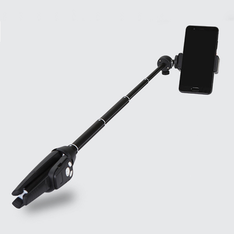 High Quality Rechargeable Bluetooth Remote Selfie Stick Tripod Monopod for IOS Android Phones