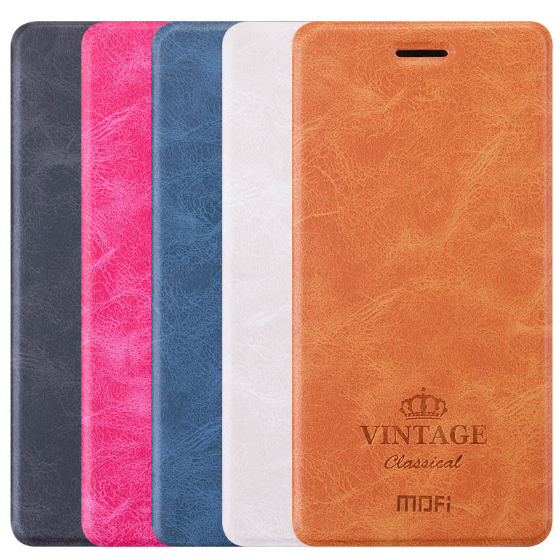 For xiaomi redmi note 4X Case MOFI Hight Quality Luxury Flip Leather Stand Case For xiaomi