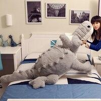 Big Giant Crocodile Decoration Plush Pillow Plush Bed Alligator Toys Stuffed Animal Cushion Girlfriend Gift Juguetes 50T0464