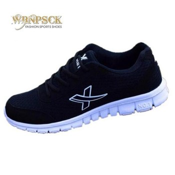 WBNPSCK new men's casual shoes in the autumn of 2018, comfortable breathable mesh shoes SIZE 36-46