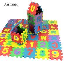 New 36 PCS Baby Kids Alphanumeric Educational Puzzle
