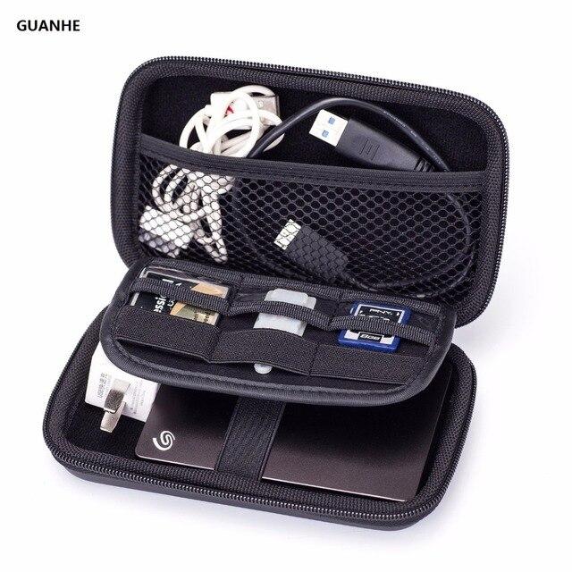781123377ac6 GUANHE accesorios electrónicos bolsa de almacenamiento Kit organizador Cable  banco de energía disco duro U caja