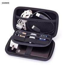 GUANHE Elektronik Aksesuarlar çanta Seti Organizatör Kablo Güç Bankası Sabit Disk U Disk Taşıma Çantası Akıllı Telefon