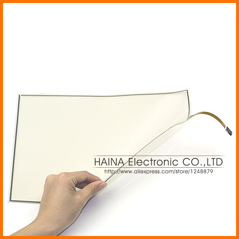 ФОТО Flexible Industrial Touch Film 18.5 laptop touch screen, 4 wire resistive USB touch screen digitizer, touch panel 18.5