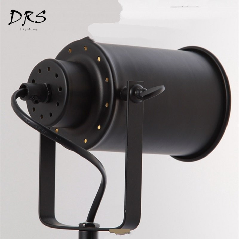 Современные Простые креативные настольные лампы железные черные настольные лампы Гостиная Спальня Обучающие светодио дный фонари домашние осветительное оборудование - 4