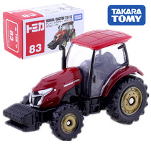 цена на TOMICA  Yanmar Tractor YT5113 Scale TAKARA TOMY Display Miniature Diecast Metal Car In Toy Vehicle Model Collection Toys