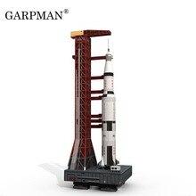 37 см 1:300 Сатурн V ракета бумага модель «сделай сам» головоломка ручное пространство 3D оригами бумажная игрушка для рисования