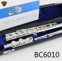 Буфет Crampon & cie APARIS Посеребренная флейта инструмент модель BC6010 16 закрытых отверстий конструкции C Ключ флейты