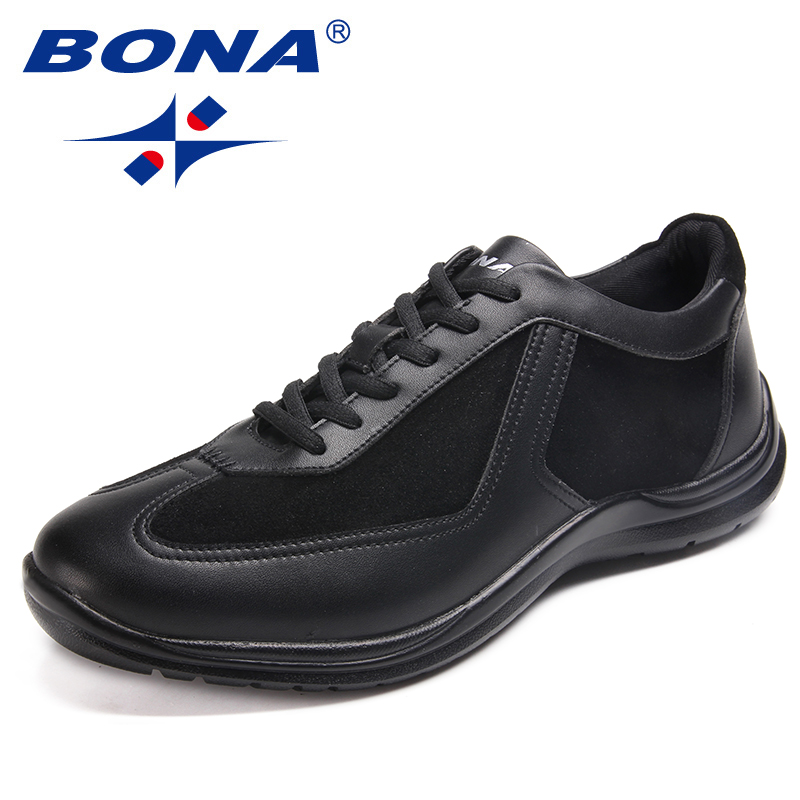 BONA New Arrival Classics Style Men Walking Shoes Outdoor Physical Jogging Sneakers Lace Up Men Athletic