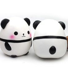 Gift Toys for Children Cute Panda Squshy Slow Rising Decompression Decoration PU Anti-stress toys