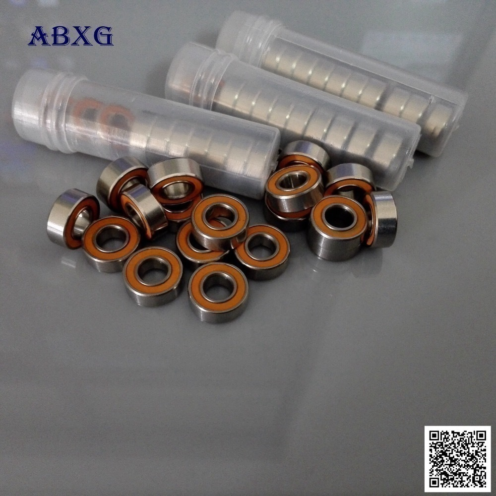 5 PCS S694C-2OS 440c Stainless Steel CERAMIC Ball Bearings ABEC-7 4x11x4 mm