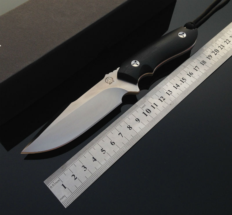 ФОТО Sliver Fox Fixed D2 Blade Knife Bolte Survival Knives Hunting Tactical Knifes G10 Handle With Kydex Sheath Camping Outdoor Tools