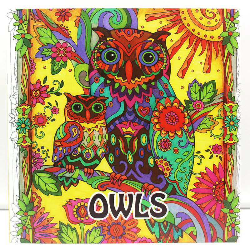 New Coloring Books For Adults : Online get cheap coloring book owl aliexpress.com alibaba group