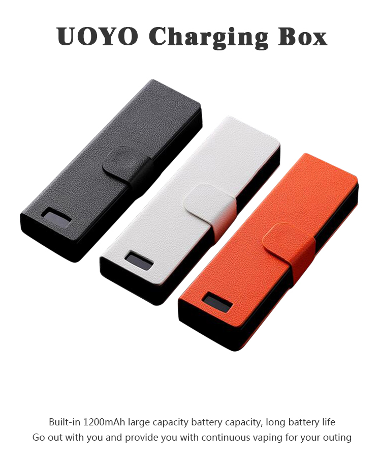 Universal Compatible For JUUL Electronic Cigarette Charger For  JUUL00 Mobile Charging Pods Case Holder Box