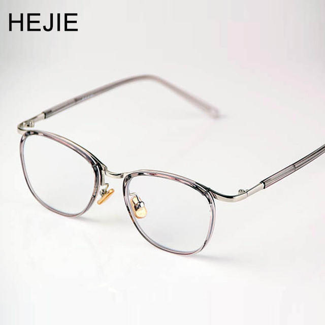 68fde41e806 HEJIE Unisex TR90 Alloy Reading Glasses High Clear Anti-scratch Aspherical  Lens Anti Glare Diopter+0.5+0.75+1.0+1.25~+4.0 Y1208
