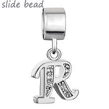 125f90def Free freight letter R pendant charm beads. Suitable for Pandora bracelets  and beads for jewelry