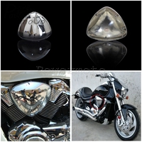 Chrome Motorcycle Air Filter Cover for Suzuki Boulevard M109 M109R VZR1800 Right & Left Air Cleaner Guard