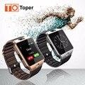 Smart watch dz09 bluetooth smartwatch com sim/tf slot câmera mulheres homens relógio de Pulso Relógio para IOS Android GV18 U8 Telefone PK GT08