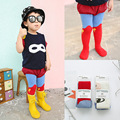 Children Tights for girl Baby Girl Tights Cotton Pantyhose Vertical stripes Kids Tights Breathable kawaii Stockings for Superman