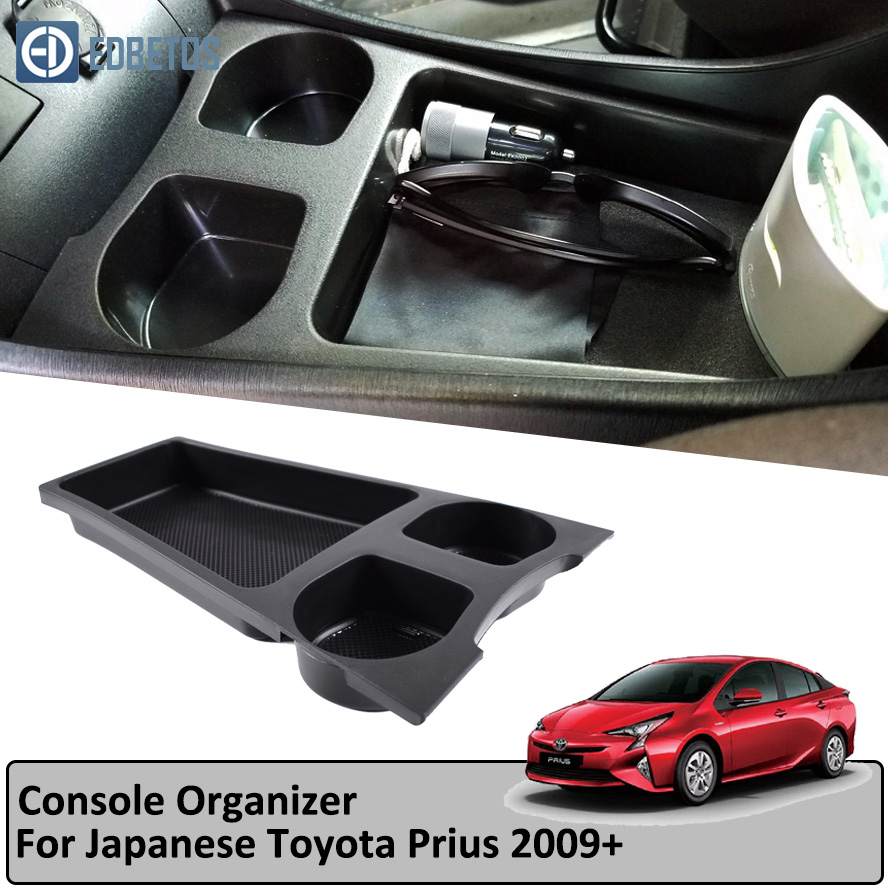 Armrest Storage Box for Toyota Prius Cup Holder 2009-2019 Central Console Organzier Storage Cup Holder Tray ContainerArmrest Storage Box for Toyota Prius Cup Holder 2009-2019 Central Console Organzier Storage Cup Holder Tray Container