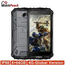 Ограниченное предложение Doogee S60 мобильный телефон 5.2 «Android 7.0 helio P25 Восьмиядерный 6 ГБ 64 ГБ 5580 мАч Quick Charge 21MP 4 г Глобальный Версия прочный телефон